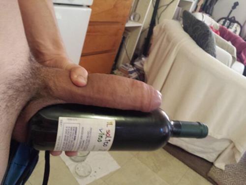 Jungs großen Schwanz in der Flasche, Anal Galerie Latina Film